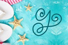 Swirly Monogram - With Swooshy Monoline Extras Product Image 4