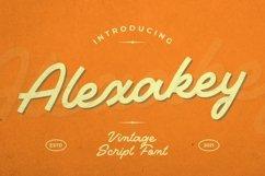 Web Font Alexakey Font Product Image 1