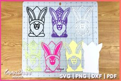 3D LAYERED EASTER BUNNY GNOME SVG, 3D SVG, 7 LAYERS Product Image 3