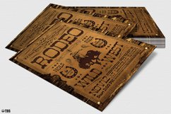 Western Rodeo Flyer Template V2 Product Image 4