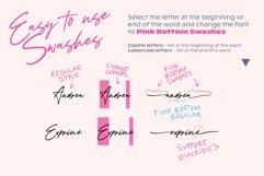 Pink Bottom Romantic font Product Image 4