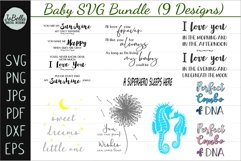 Baby SVG Bundle, Sublimation PNGs and Printables Product Image 1
