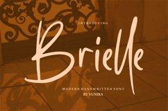 Brielle   Modern Handwritten Font Product Image 1