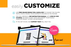 Colorful fashion Instagram 18 Posts Template | CANVA Product Image 2