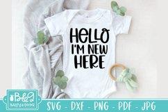 Baby SVG Bundle - Newborn SVG Cut Files - 20 Designs Product Image 5