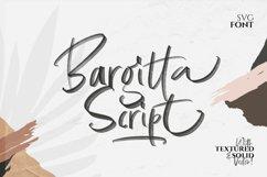 Bargitta Script SVG Font Product Image 1
