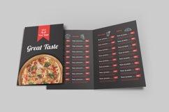 Food Menu Bi-Fold Brochure Product Image 1