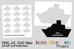 Ship SVG shape Product Image 1
