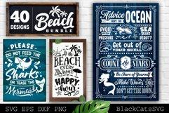 Beach Bundle SVG 40 designs Summer SVG bundle Product Image 5