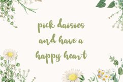 Tuesday Daisy - a beauty script font Product Image 3