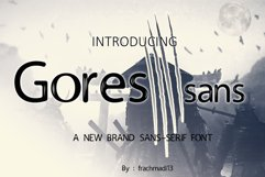 Gores Sans Product Image 1