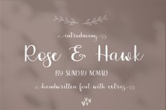 Rose & Hawk Product Image 1