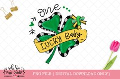 One lucky mommy, daddy, baby, St Patricks sublimation bundle Product Image 4