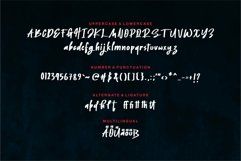 Web Font Jedgar - A Bold Handwritten Font Product Image 2