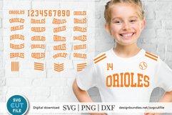 Orioles svg, Oriole svg, Oriole svg bundle, Oriole baseball Product Image 1