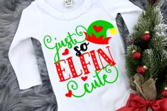 Christmas svg, Elf svg shirt design, Kids christmas svg file Product Image 1