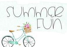 Summertime - A Cute Handwritten Font Product Image 4