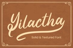 Yilactha - Script Font Product Image 1