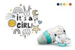 Baby cute font Product Image 3