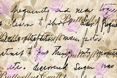 Old Letters Digital Paper, Vintage letters scrapbook Paper Product Image 6