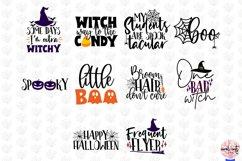 Mega Halloween SVG Bundle - 50 Designs Cut Files Product Image 2