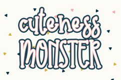 Cuteness Monster Product Image 1