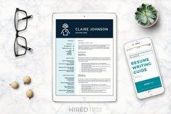 RN Nurse Resume template. Modern Resume format for Nurses Product Image 11