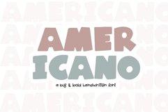 Americano - A Fun Handwritten Font Product Image 1