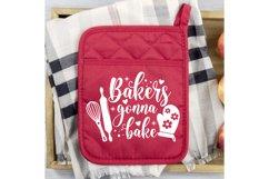 Pot Holder SVG Bundle, Kitchen SVG, Baking Svg, Baking Quote Product Image 4