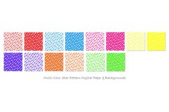 Star Backgrounds in Multi-Color - Star Patterns Product Image 2