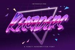 Web Font Recorders - Fancy Handwritten Font Product Image 1