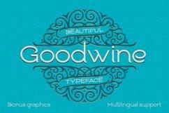 Goodwine Font, Label, Mockup Product Image 1