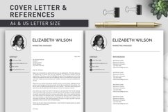 Creative Resume Template, CV Template, Resume Template Word Product Image 7