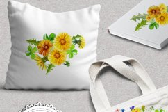 Summer Dandelion Clipart Watercolor  Product Image 8