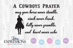 Cowboy Prayer Design Product Image 1