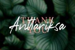 Anttariksa - Brush Script Font Product Image 2