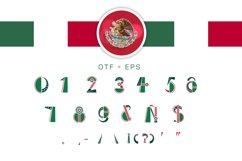 OTF color font Mexifont Product Image 4