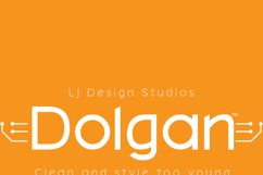 Dolgan Typeface Product Image 5