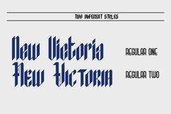 New Victoria - Modern Blackletter Font // Web Font Product Image 3