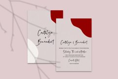 Anastacy - Handlettered Font Product Image 2