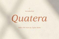 Quatera Italic Product Image 1