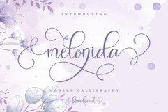 Melonida || Lovely Script Font Product Image 1