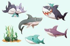 Shark Family Illustrations Product Image 2