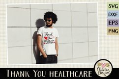Thank You Healthcare Workers SVG - Healthcare Heroes Product Image 2