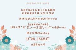 Gabriella | Fancy Flower Font Product Image 6