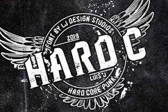 Hard C 2 FONTS Product Image 2