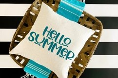 Web Font Hello Wednesday - A Cute Hand-Lettered Font Product Image 2