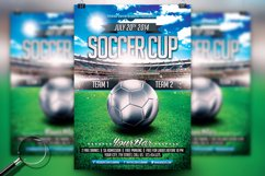 Soccer Cup | Modern Flyer Template Product Image 2