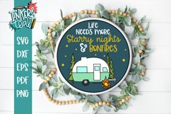 Life Needs More Starry Nights and Bonfires SVG Product Image 1
