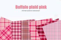 Digital paper Pink, buffalo plaid Pink, Background Product Image 3